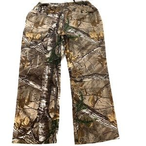 Game winner women tree print camo pants size 2X